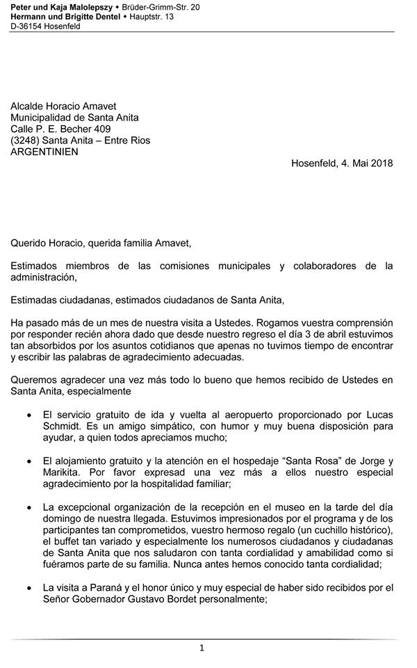 Cultura Y Turismo Municipio De Santa Anita Entre Rios